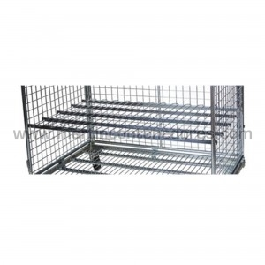 Shelf for roll container...