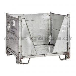 Used foldable container