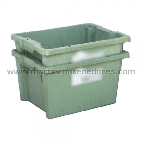 Caja verde encajable ocasion