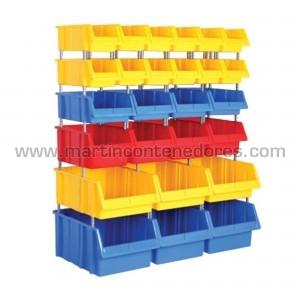 Set de 26 gavetas plásticas...