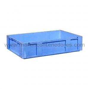 Caixa plástica 600x400x140 mm