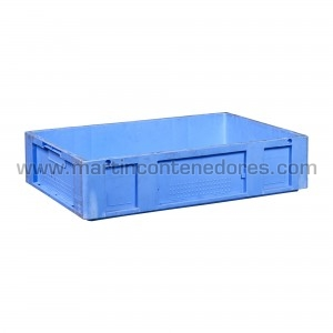 Caja plástica 600x400x140 mm