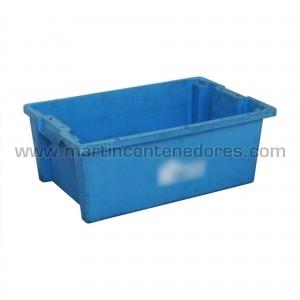 Caixa encaixável usada 600x400 mm