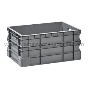 Plastic box 600x400x295/280 mm