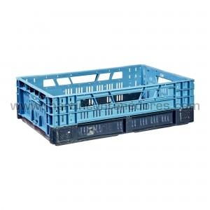 Caixa rebativel 600x400x165 mm