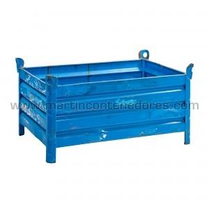Steel box 1200x800x525/425 mm