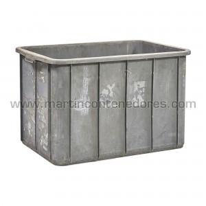 Plastic box 660x450x410/400 mm