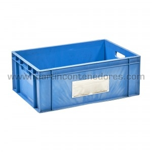 Plastic box 595x395x230/215 mm