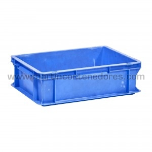Plastic box 400x300x120/115 mm