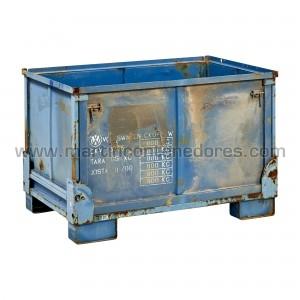 Foldable steel box...