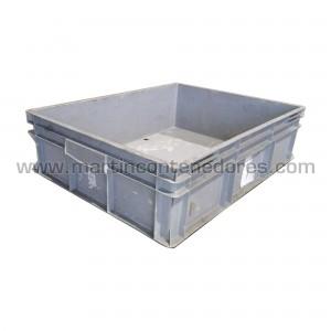 Caja plástica 800x600x220 mm