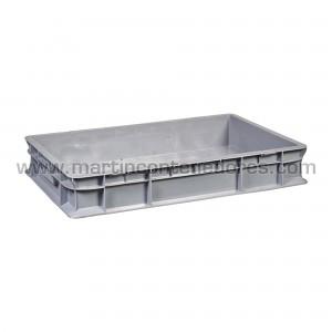 Plastic box 600x400x100/90 mm