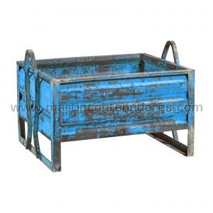 Steel box 1060x800x560/375 mm