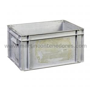 Plastic box 400x300x215/207 mm