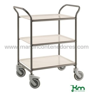 Service trolley gray with 3...