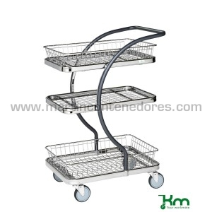 Auxiliary trolley with 1...