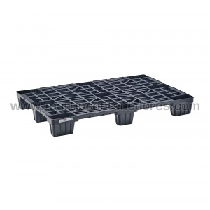 Perforated plastic pallet...