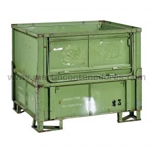 Steel box 1200x1000x1020 mm
