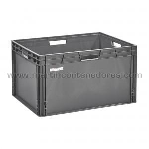 Plastic box 800x600x449/437 mm
