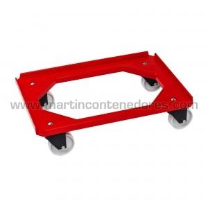 Plateau mobile rouge 250 kg