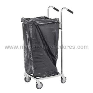 Ergonomic ESD sack trolley...