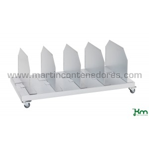 Trolley for corrugated...