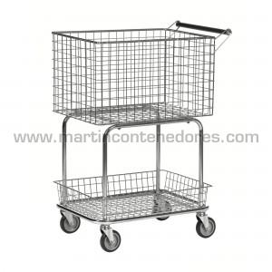 Allround trolley 2 baskets...