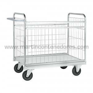 Parcel trolley with wheels...