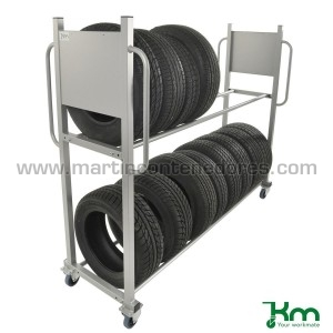 Tire trolley 2030x720x1620 mm