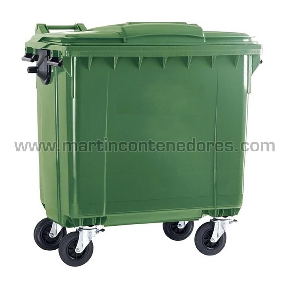 Conteneur pour déchets en pehd vierge