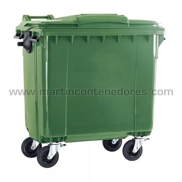 Contenedor basurero 1100 litros