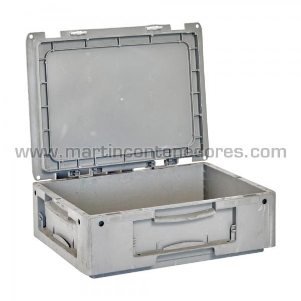 Caja plástica con tapa