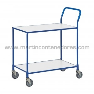 Service trolley with 2...