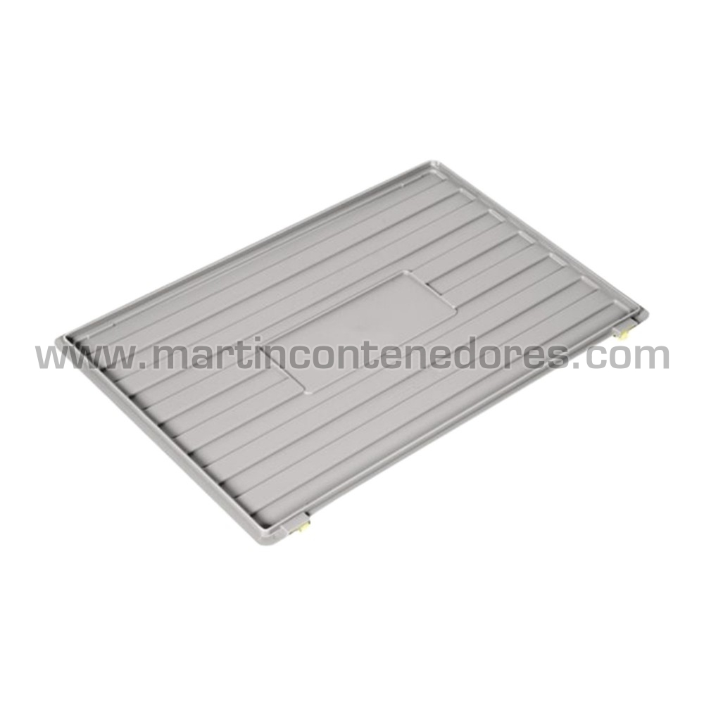 Tapa para caja 600x400 mm Gris
