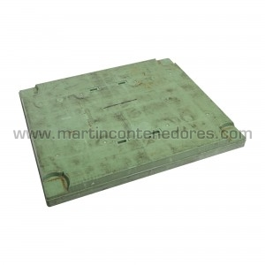Lid for pallet 1200x1000 mm