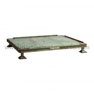 Steel pallet 1200x1000x165 mm