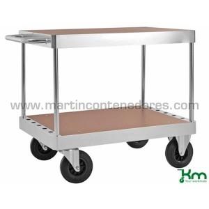 Carro de mesa con 2 niveles...