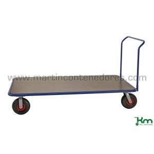 Carro plataforma con ruedas...