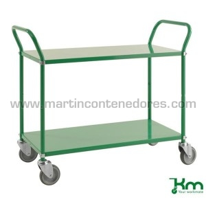 Service trolley green with...