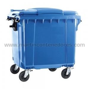 Contentor lixo 1100 litros