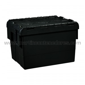 Box nestable with lid...