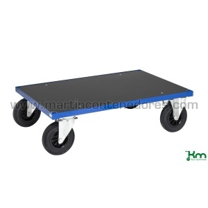 Chariot plate-forme bleu...