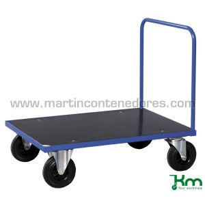 Transport trolley with 1...