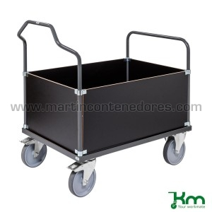 Transport trolley with...