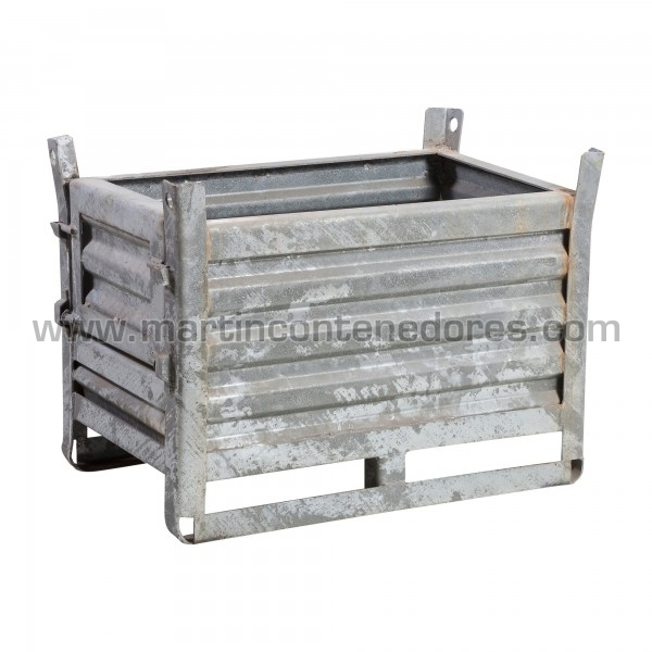 Steel box with flap used