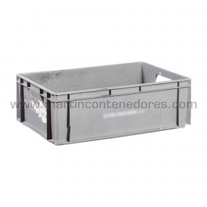 Plastic box 600x400x200/195 mm