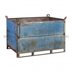 Steel box 1420x1100x960/840 mm