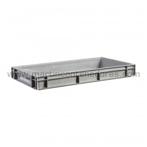 Plastic box 600x400x75/70 mm