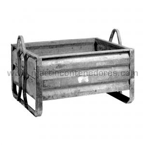 Conteneur tôle 1000x800x590 mm