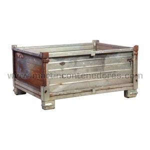 Steel collapsible box...